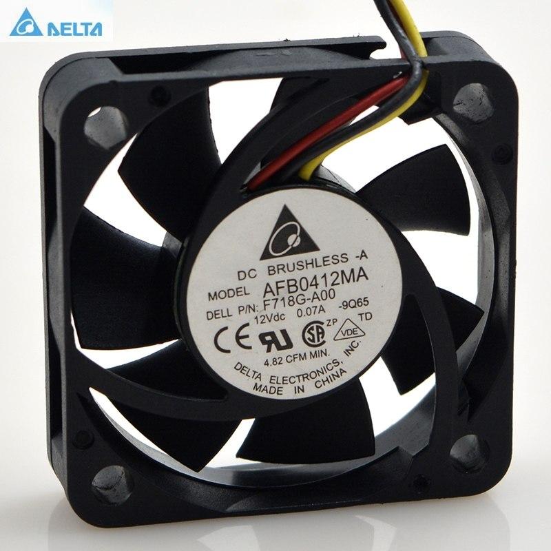 Delta AFB0412MA 12V 0.10A dual ball mute cooling fan