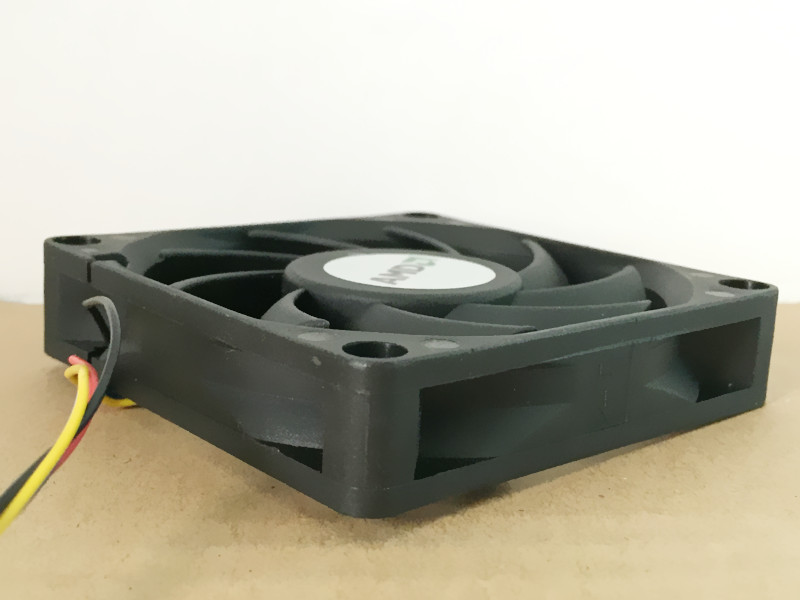 AVC DE07015B12U DC12V 0.7A 3-wires Double ball large air volume speed cooling fan
