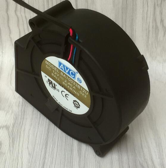 AVC BA10033B12U DC 12V 2.40A oven ball draught blower cooling fan