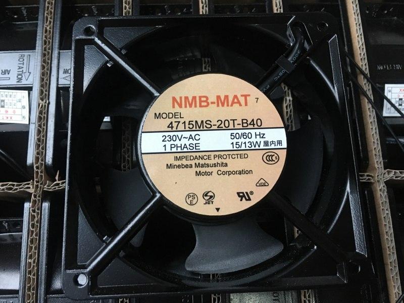 NMB-MAT 4715MS-T-B40 12CM 15/13W cooling fan