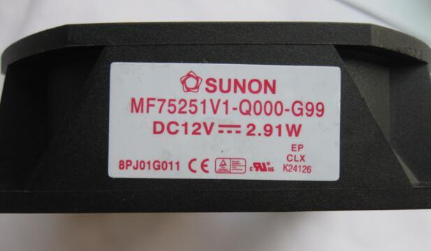 SUNON MF75251V1-Q000-G99 DC12V 2.91W Projector Cooling Fan