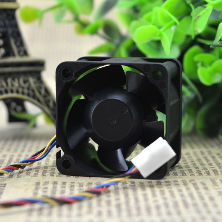 Delta FFB0412SHN DC12V 0.60A 40x40x28mm PWM Server Inverter Axial Cooling Fan