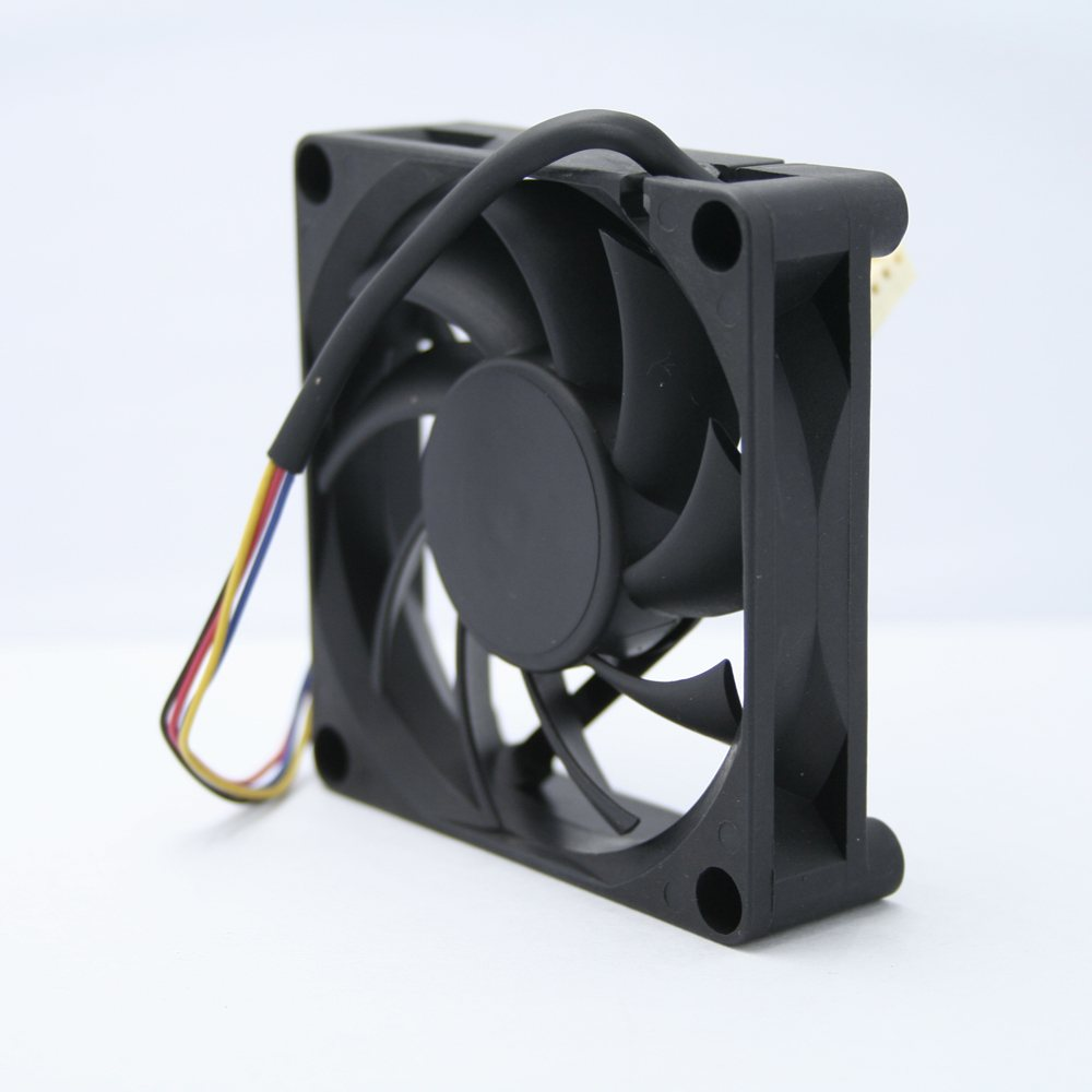 AVC DESC0715B2U DC12V 0.7A  4-wire double ball bearing fan