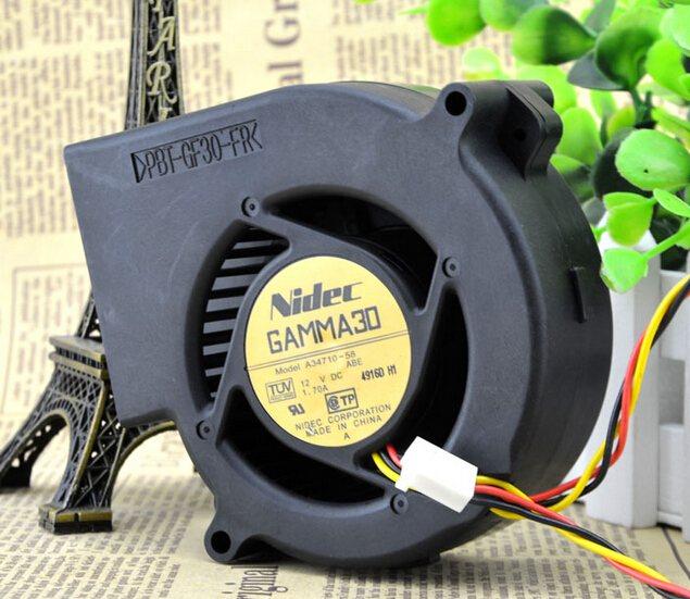 NIDEC A34710-58 DC12V 1.7A three line super air fan blower switch