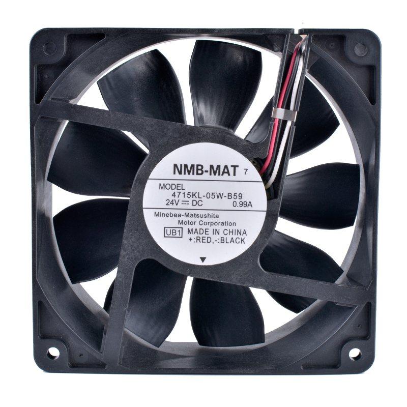 NMB 4715KL-05W-B59 24V 0.99A Double ball bearing  cooling fan