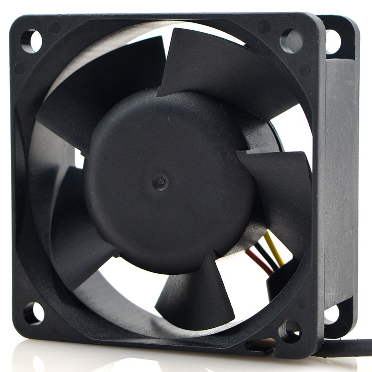 SUNON PMD16PTB3-A, (2).U.F.GN DC 12V 3.1W 60x60x25mm Server Square fan