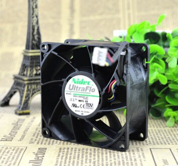 NIDEC V80E12BS2A7-07 80*80*38 12V 1.5A 8CM PWM four wire temperature air fan