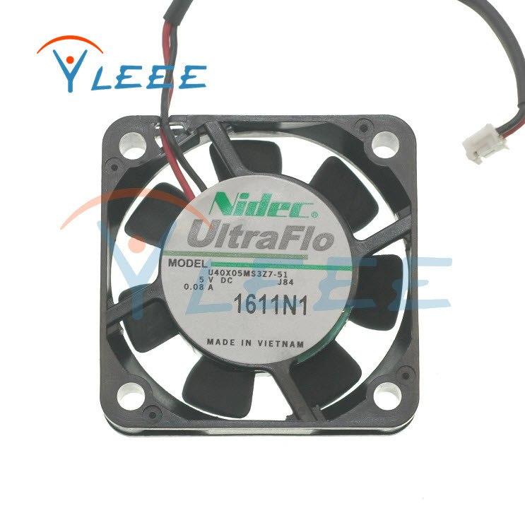 Nidec U40X05MS3Z7-51 U40X05ML27-51 4CM 0.1a 5V 0.08A cooling fan