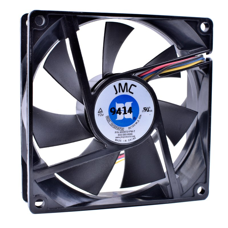 JMC 9025-12HS HAPW 12V 0.50A 4-pin pwm cpu cooling fans