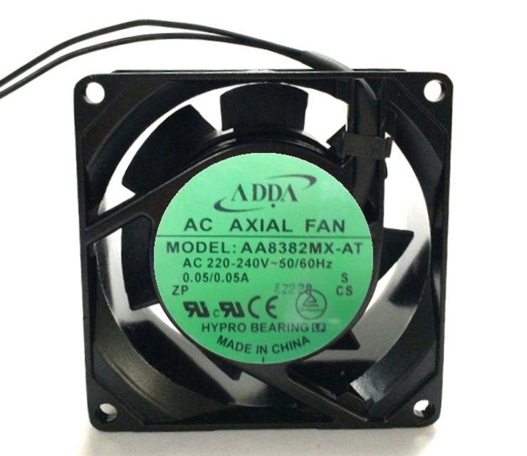 ADDA  AA8382MX-AT  AC 220V 2400RPM 24CFM cooling fan