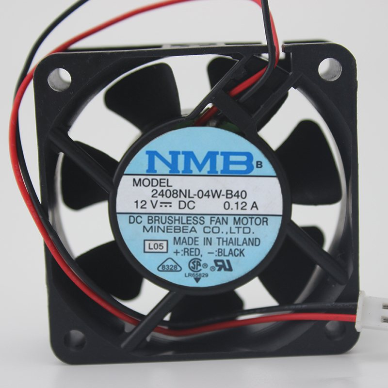 2408NL-04W-B40 12V 0.12A Industrial cooling fan