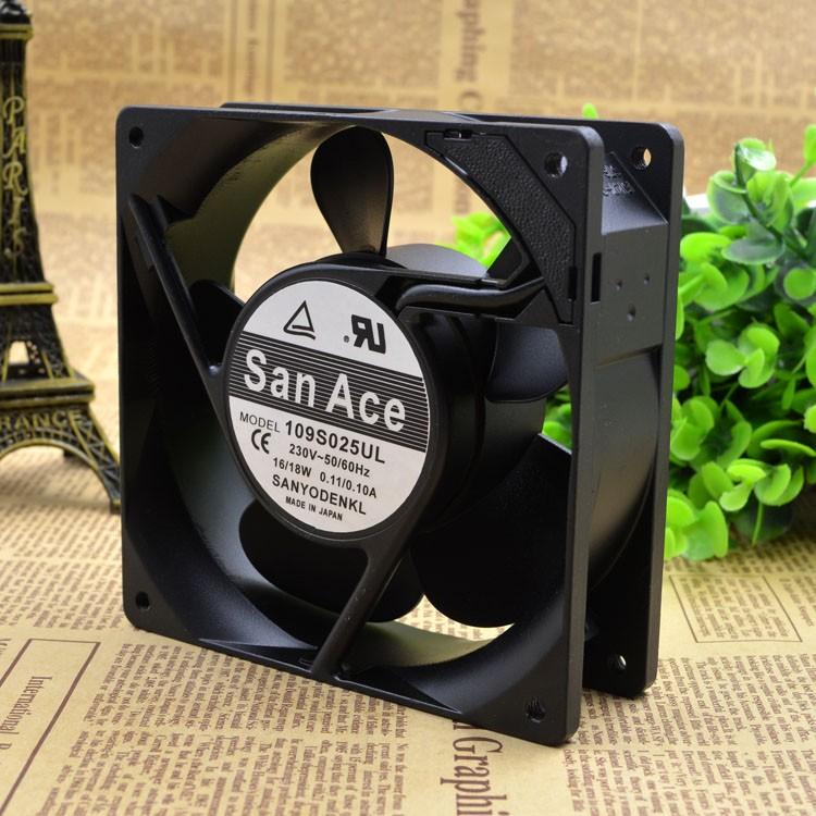 Sanyo 109S025UL 230V 120*120*38  cooling fans