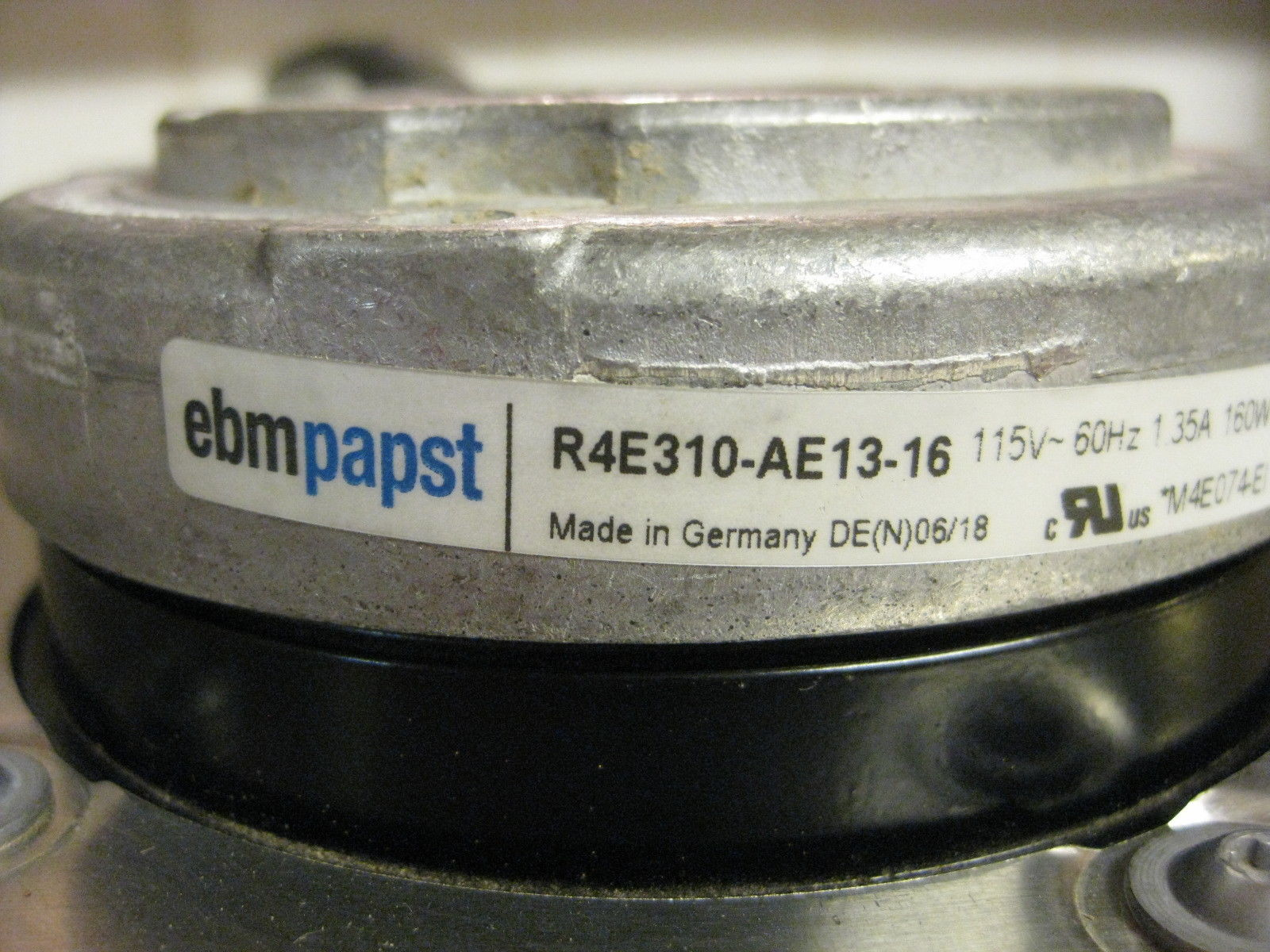 ebm papst R4E310-AE13-16 115VAC Impeller cooling Fan