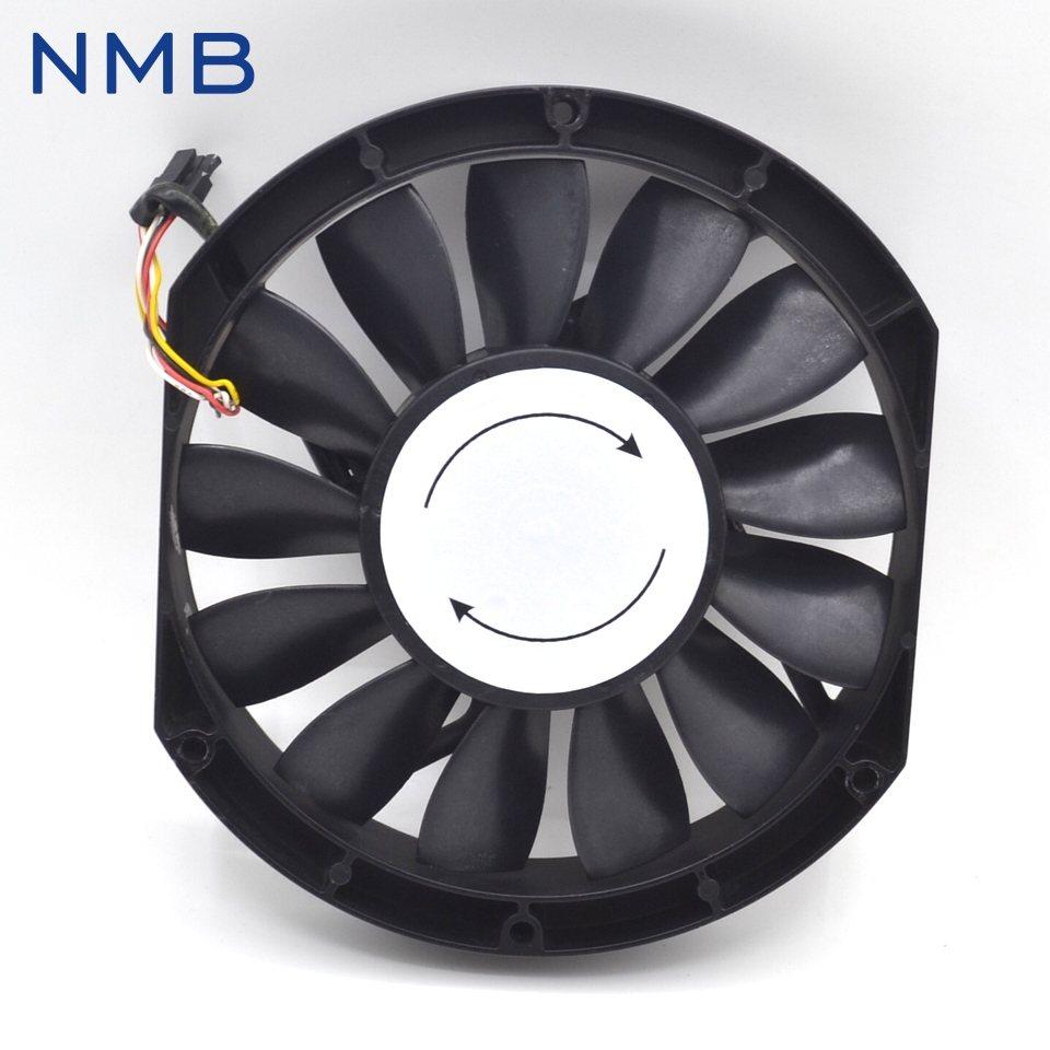 NMB 5910PL-05W-B76 DC24V 1.95A  170*170*25mm cooling fan
