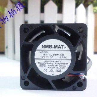 NMB 1611RL-04W-B86 4028 12V 0.75A 4 line PWM fan