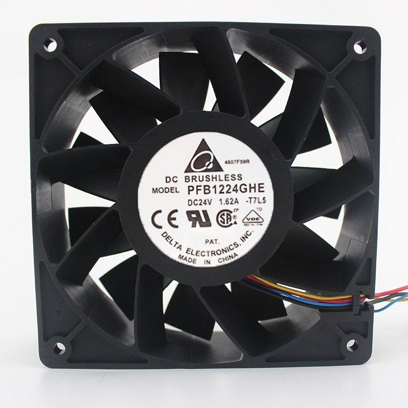Delta PFB1224GHE 24V 1.62A 12cm Air volume Inverter fan