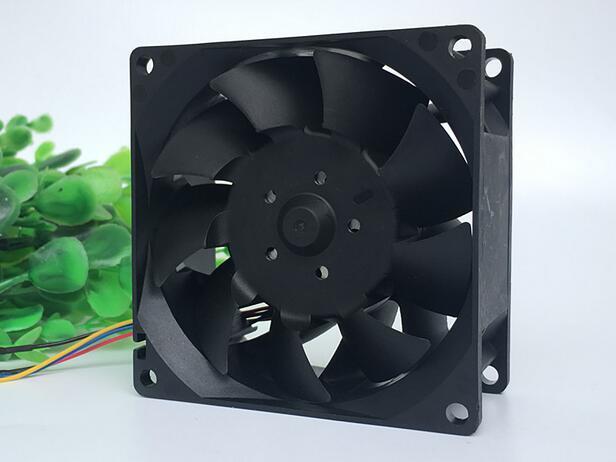 Delta TFB0812UHE DC12V 2.34A 4-line PWM Temperature Control Server Heat Dissipation Cooling Fan