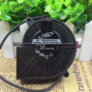 ADDA AB7512UB-W03 DC12V 0.6A Projector Blower Cooling fan