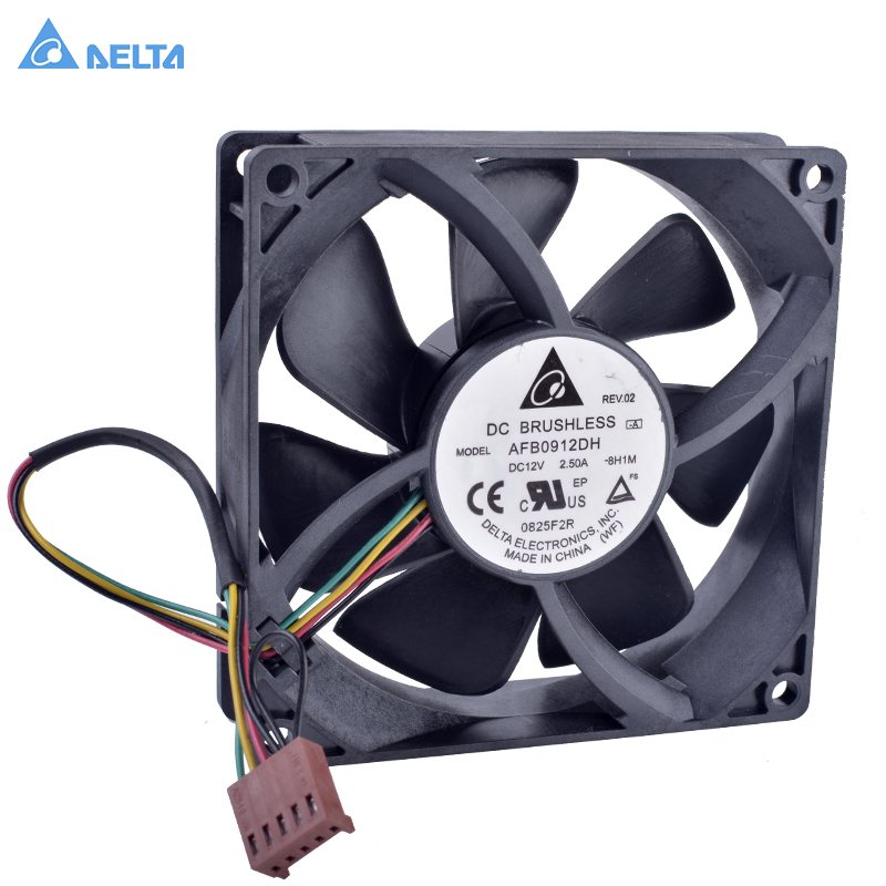 Delta AFB0912DH 12V 2.5A  double ball bearing  cooling fan