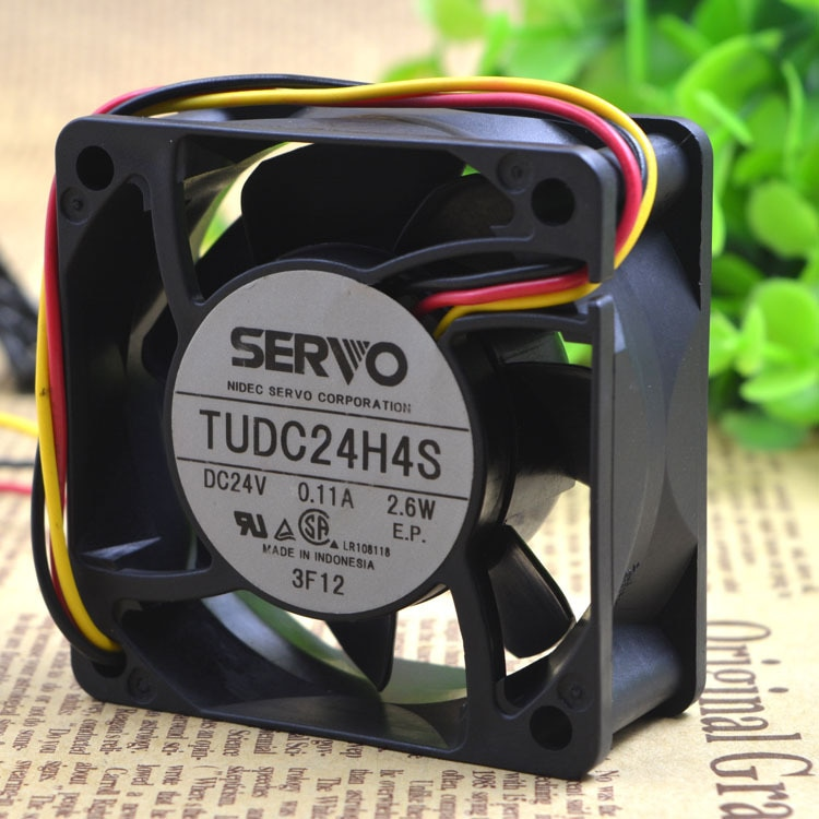 SERVO TUDC24H4S 24V 2.6W 6CM ultra-quiet cooling fan