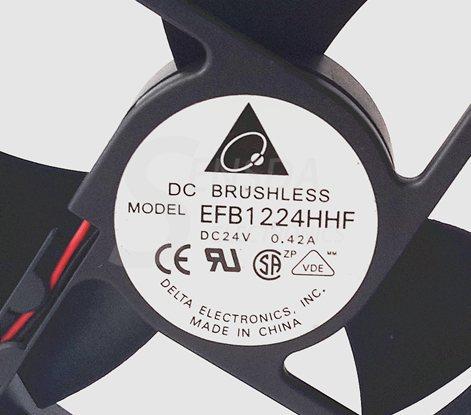 DELTA EFB1224HHF 12cm 24v 0.42A server inverter axial cooling