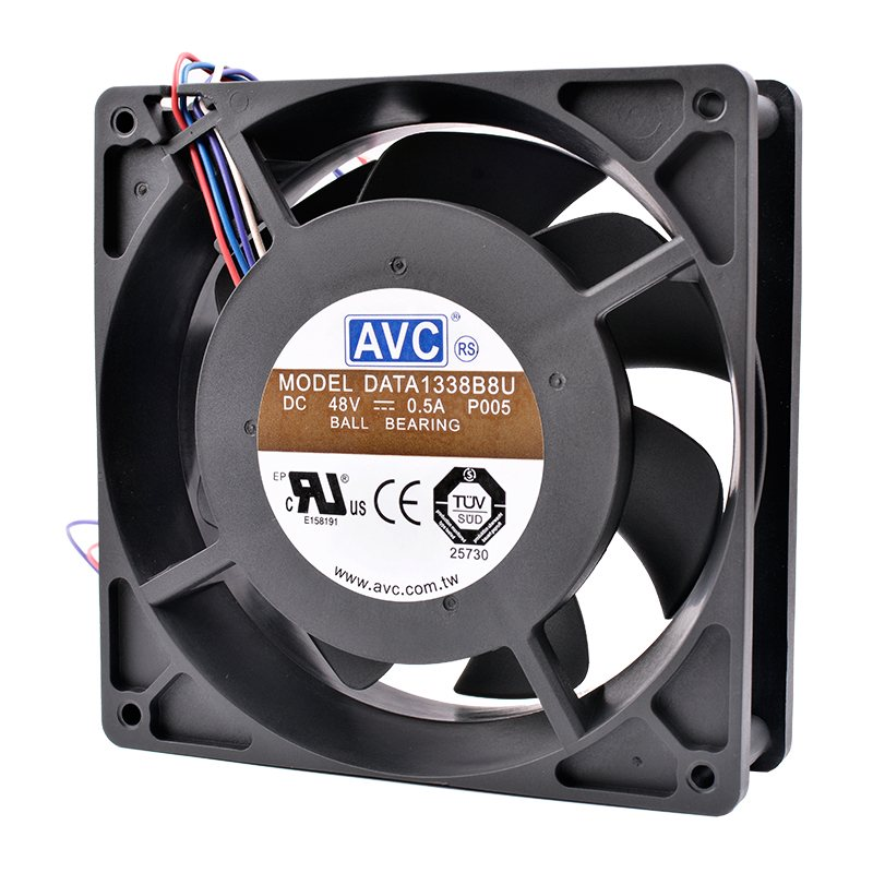 AVC DATA1338B8U DC 48V 0.50A  high-end server cooling fan