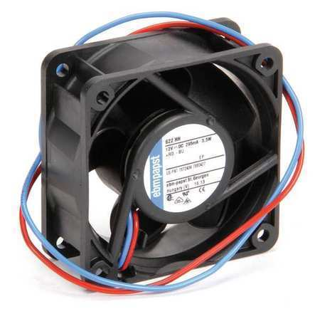 Ebm-Papst 622HH 12VDC 2-1/3″ Square Axial Fan