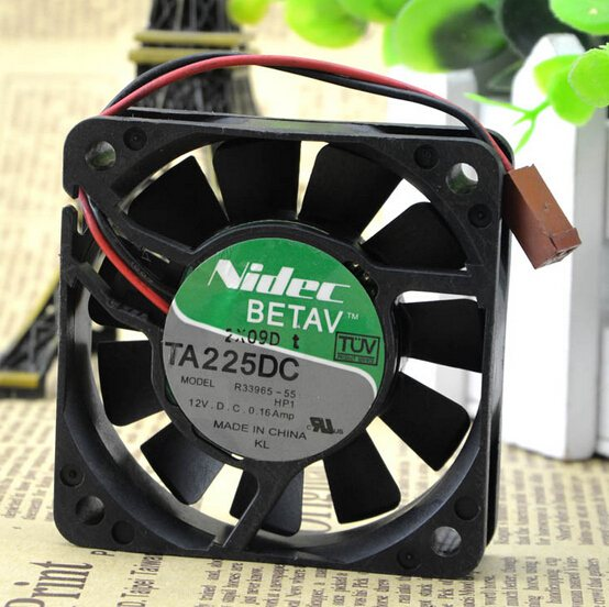 Nidec R33965-55  6CM 60*60*15 12V 0.16A dual ball fan