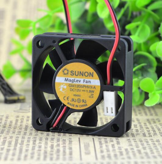SUNON GM1205PHVX-A DC12V 1.9W 2-wire Hydraulic Server Cooling Fan