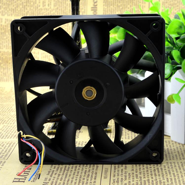 Delta FFC1248DE 48V 0.75A  12CM high volume double ball fan