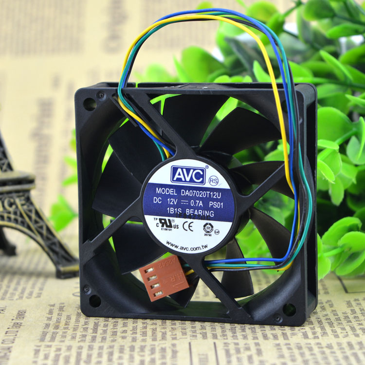 AVC DA07020T12U 12V  ball CPU cooling fan