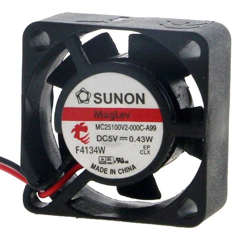 SUNON MC25100V2-000C-A99  DC5V 0.43W cooling fan
