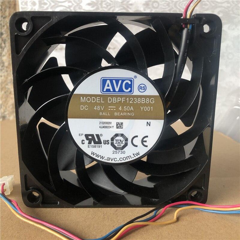 AVC DBPF1238B8G DC48V 4.50A cooling fan