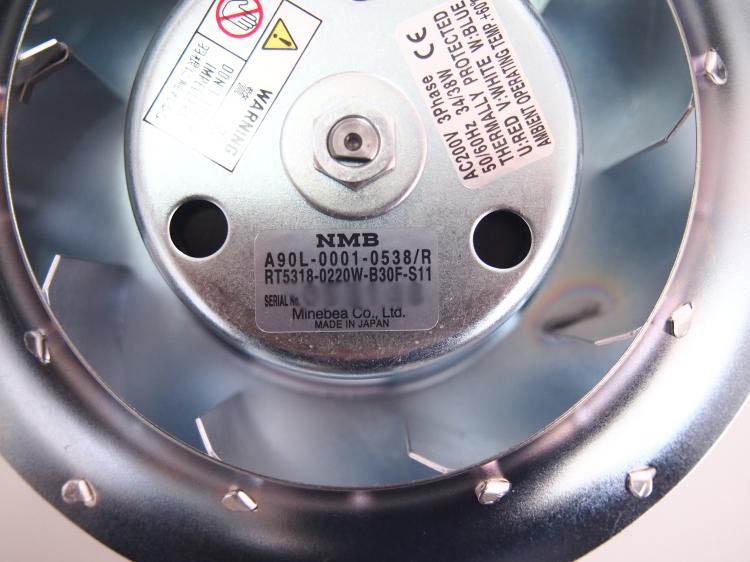 NMB A90L-0001-0538/R /0538/F FANUC Spindle Motor Cooling Fan