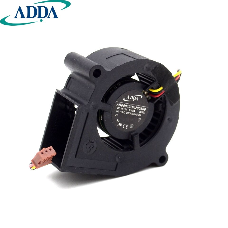 ADDA AB05012DX200600 DC12V 0.15A cooling fan
