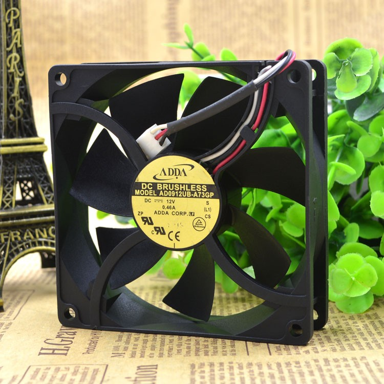 ADDA AD0912UB-A73GP 92x92x25mm DC12V 0.46A industrial Square cooling Fan