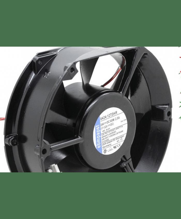 ebmpapst 6424/12TDHR 24v 2.5A 60W cooling fan