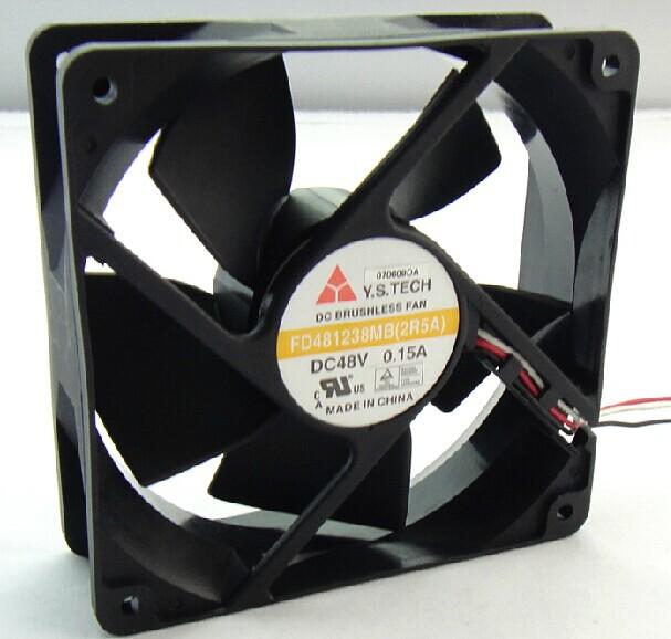 Y.S.TECH FD481238MB 2R5A 48V 0.15A cooling fan