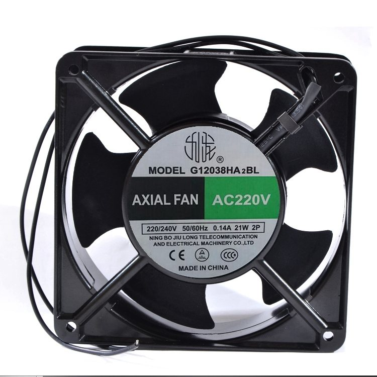 JIULONG G12038HA2BL 120X120X38MM 220V axial cooling fan