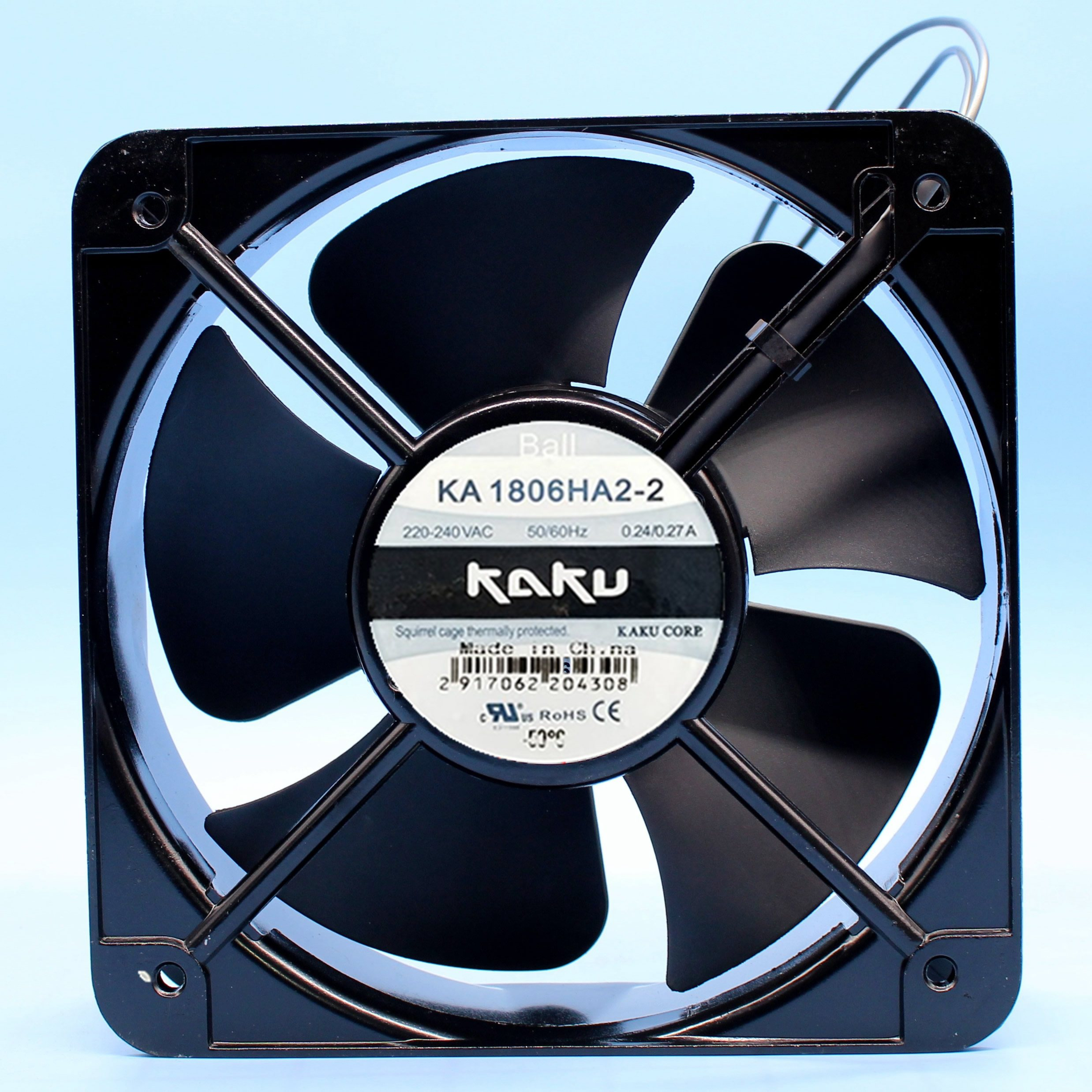 KAKU KA1806HA2 0.35A 220V ball cooling axial fan