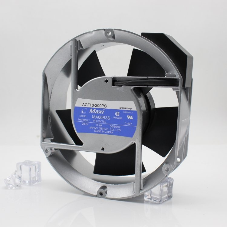 Maxi MA60B3S ACFI 8-200PS 200V 0.2A THERMALLY PROTECTED cooling fan