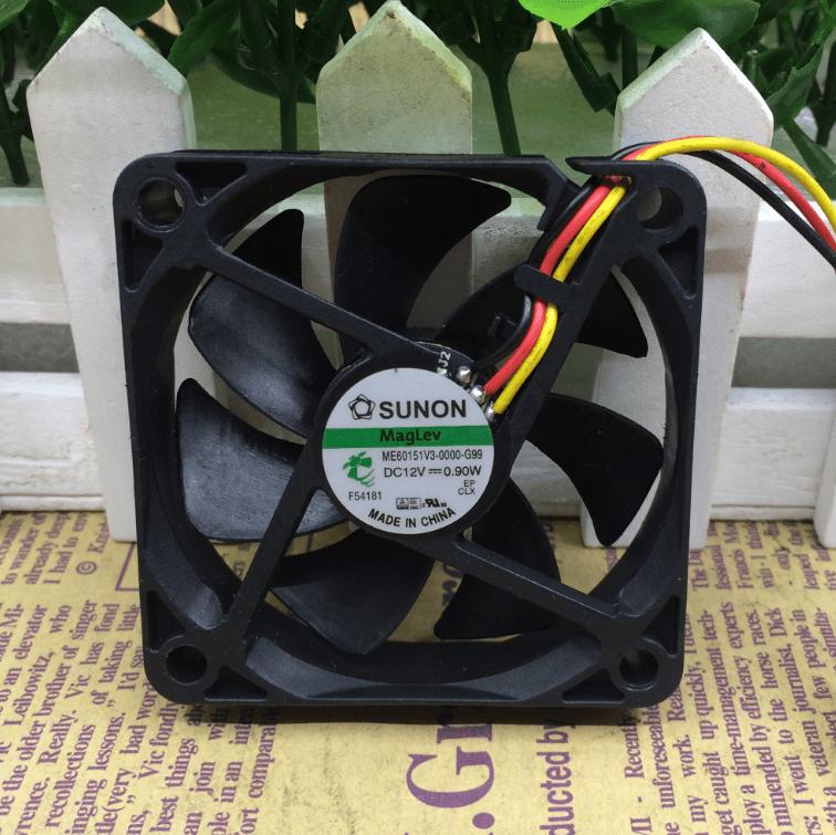 SUNON ME60151V3-0000-G99 DC12V 0.90W 3wires cooling fan