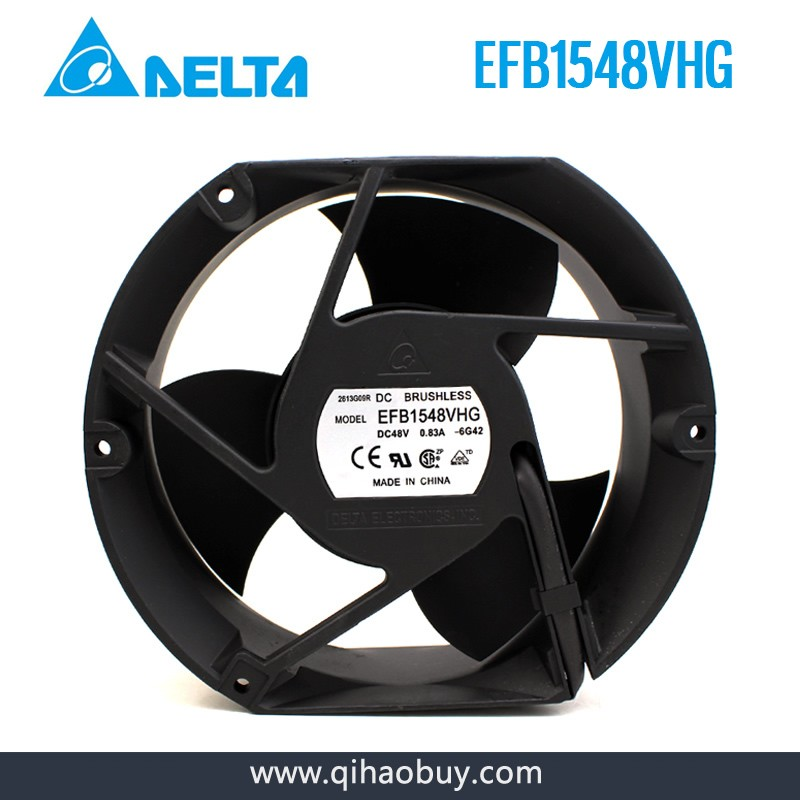Delta EFB1548VHG DC48V 0.83A Axial cooling fan