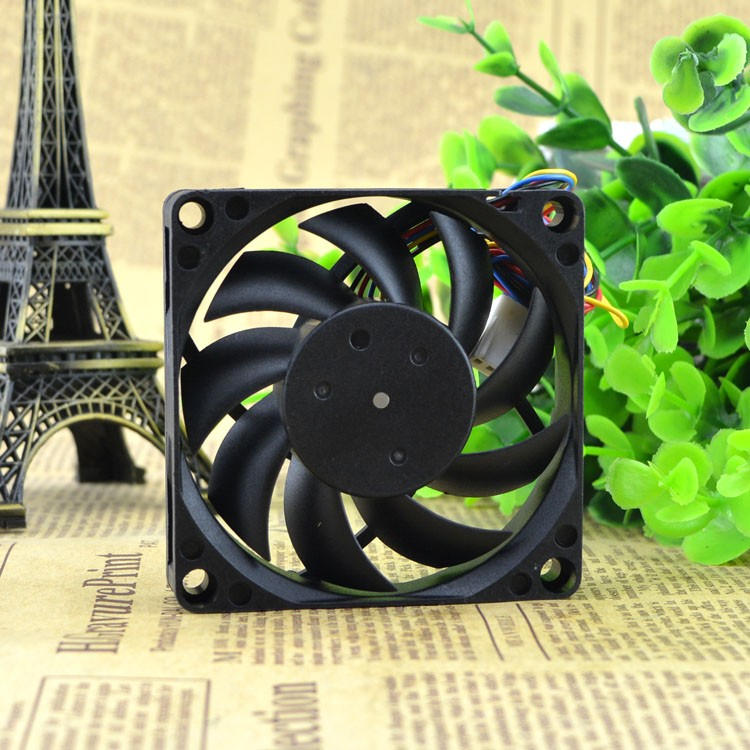 Foxconn PV701512P2BF 02 DC12V 0.15A 4-wire Cooling Fan