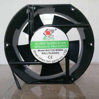 RG17251B380H AC 380V 0.12A 50/60HZ 2 Wires Cabinet Cooling Fan