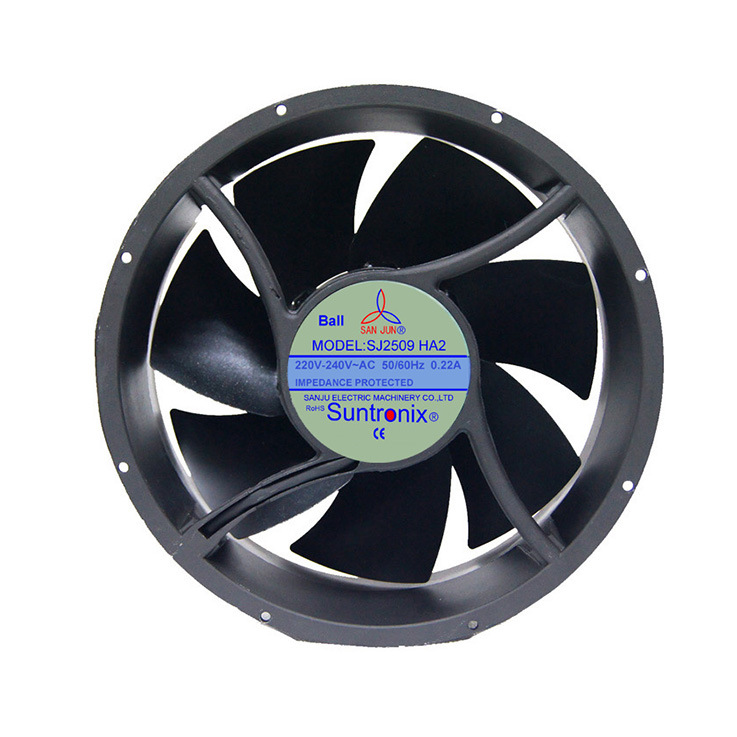 SAN JUN SJ2509HA2 AC220V Industrial High-power Ball bearing Large fan