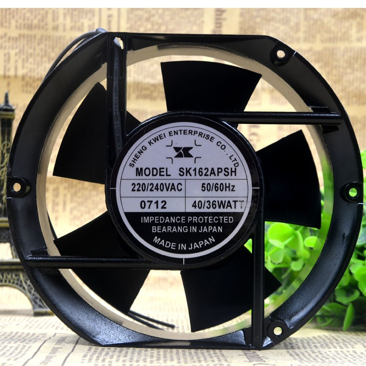 SK162APSH AC220V-240V 40/36W 2-Wires 50/60HZ Cooling Fan