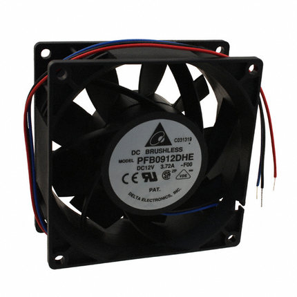 DELTA PFB0912DHE 9cm 9.2CM  12V 3.72a cpu cooler heatsink axial Cooling Fan