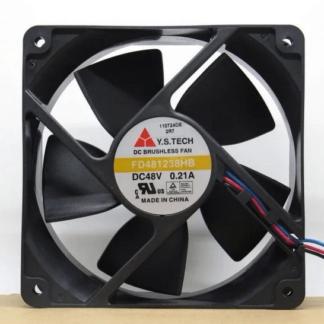Y.S.TECH FD481238HB 3line 0.21A 48V cooling fan