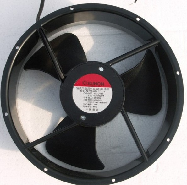 SUNON A2259-HBL TC.GN 254*89 220V 0.24A fan